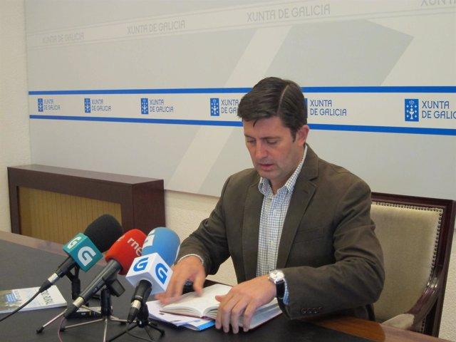El Conselleiro De Medio Rural, Samuel Juárez, En Rueda De Prensa