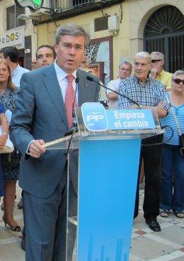 El Alcalde De Jaén, José Enrique Fernández De Moya