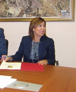 La Alcaldesa De Huesca, Ana Alós (PP)