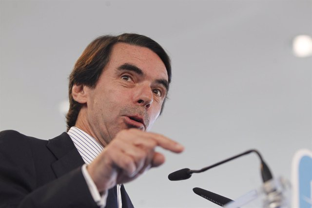 Primer plano de José María Aznar