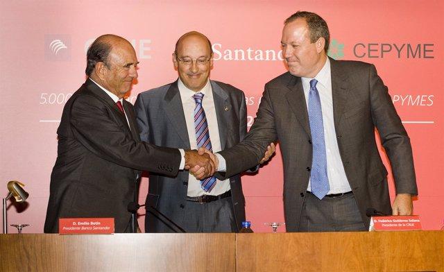 Presentación Becas Santander De Prácticas En Pymes