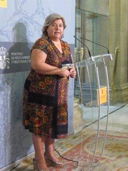 La Consejera De Agricultura De La Junta De Andalucía, Clara Aguilera