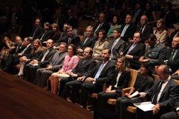 Los Príncipes De Asturias En El Auditorio Miguel Delibes