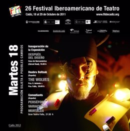 Cartel De La XBI Edición Del FIT De Cádiz