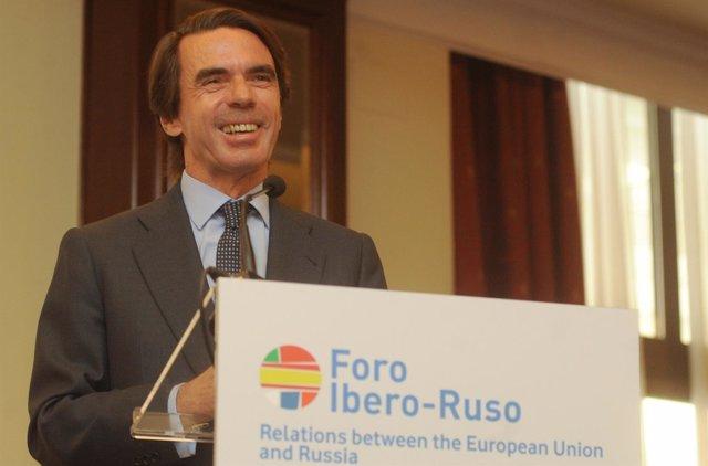 Aznar En El Foro Ibero-Ruso