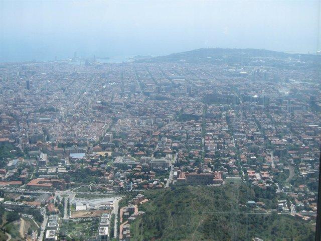 Vista de Barcelona desde Collserola
