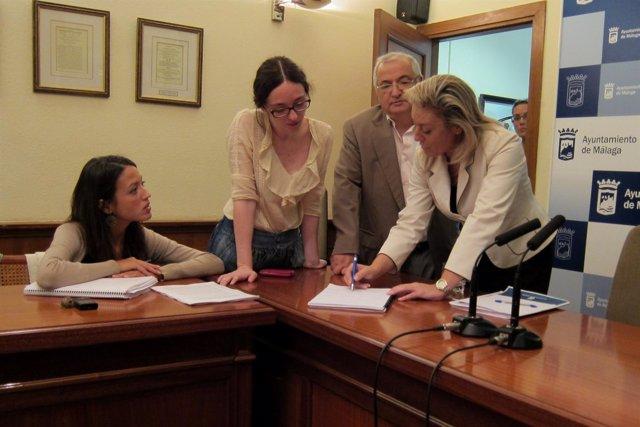 La Concejala De Economía Y Hacienda, Carolina España