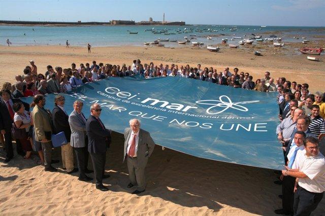 Acto De Apoyo Al Proyecto Andaluz CEIMAR En Cádiz