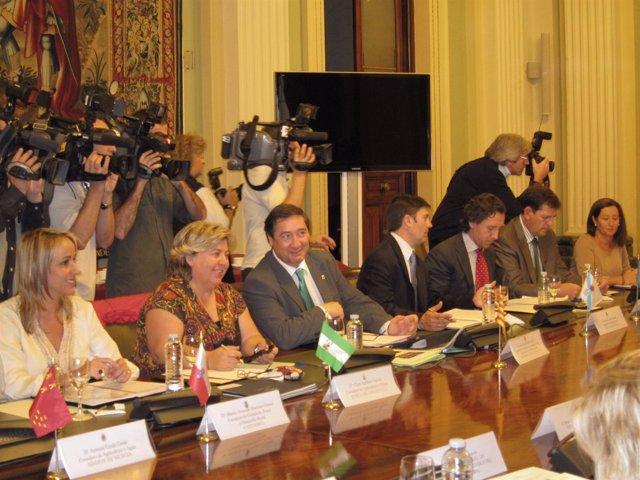 Josep Maria Pelegrí En El Centro Tras Asistir A La Conf.Sectorial De Agricultura