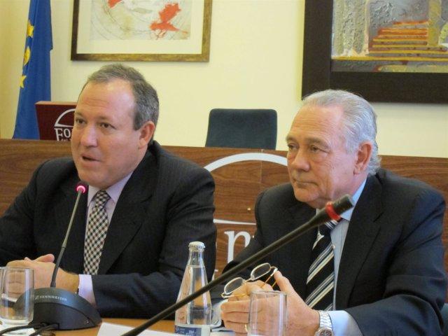 Jesús Terciado (Cepyme) Y Eusebi Cima (Fepime)