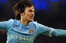 """Fútbol/Liga Campeones.- Silva (Manchester City): """"Necesitamos los tres puntos para no perder contacto con el líder"""""""