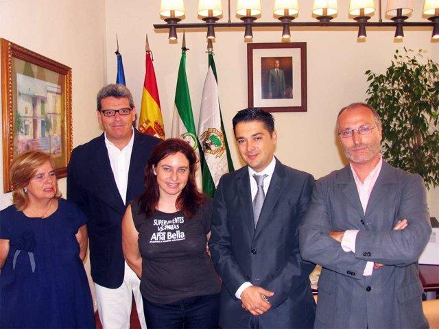 Firma Del Convenio Entre El Ayuntamiento Y La Caixa