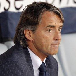 El Inter de Milán confirma la marcha de su entrenador Roberto Mancini