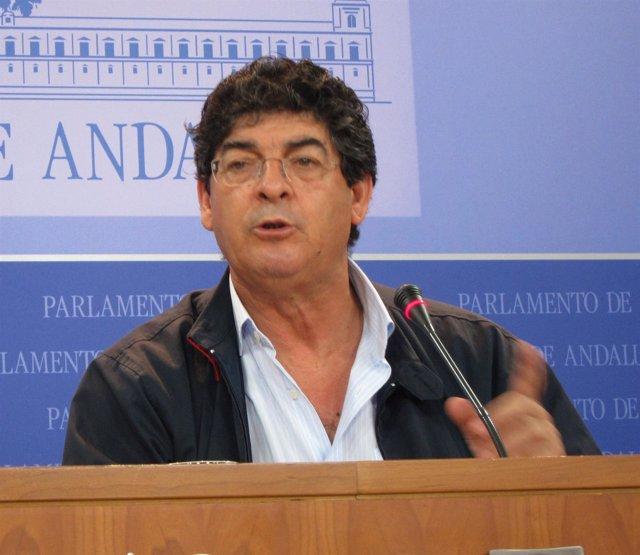 Diego Valderas En Rueda De Prensa