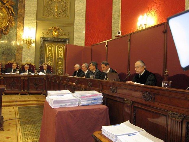 Magistrados Tribunal Supremo vista Sortu