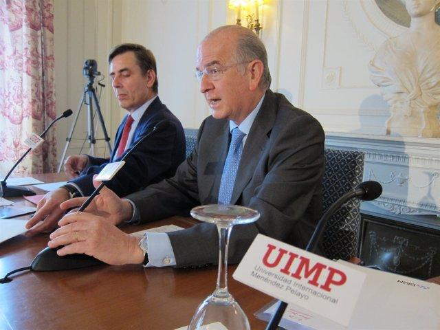 El Presidente De Banco Mare Nostrum (BMN) Y Caja Murcia, Carlos Egea