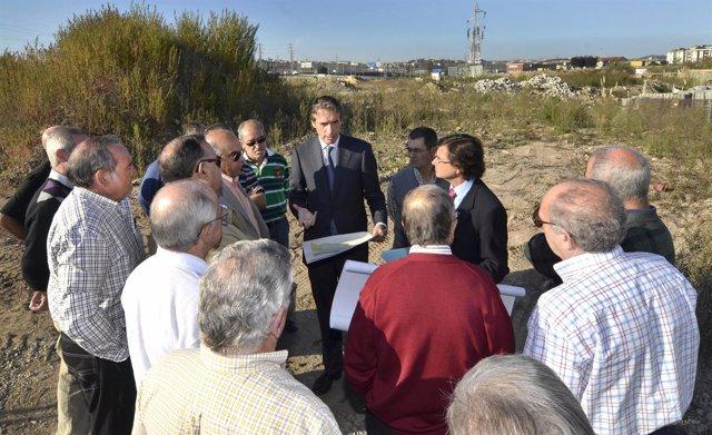 El Alcalde Informó Del Proyecto A Los Vecinos