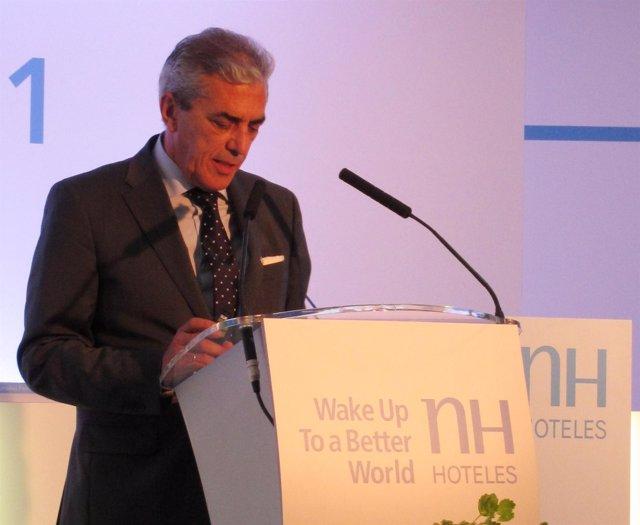 Mariano Pérez Claver, Presidente De NH Hoteles