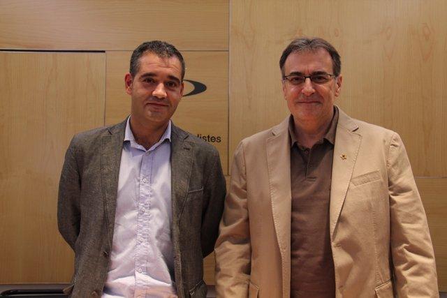 Josep Carrapiço (ERC) Y Carles Bonaventura (Reagrupament)