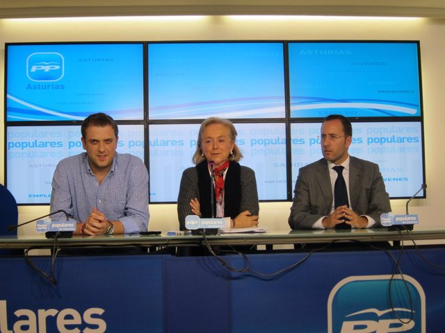 Mercedes Fernández Y Mario Arias, PP