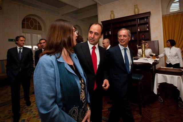 El Presidente De Cantabria En El XXV Aniversario De Expansión