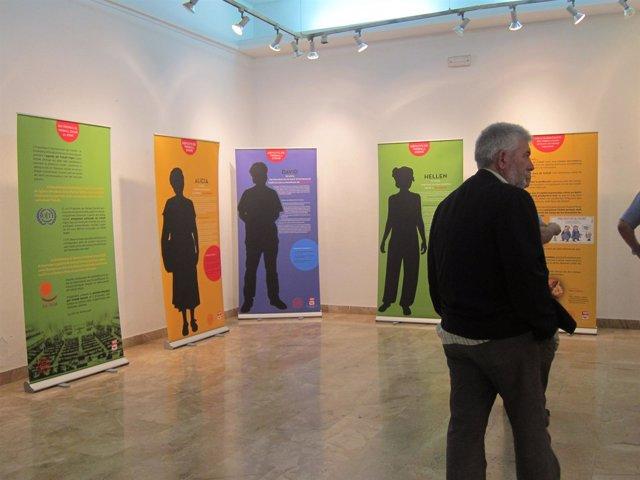Exposición ¡Queremos Un Empleo Digno! De UGT De Catalunya