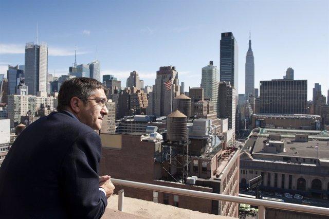 Patxi López En Nueva York