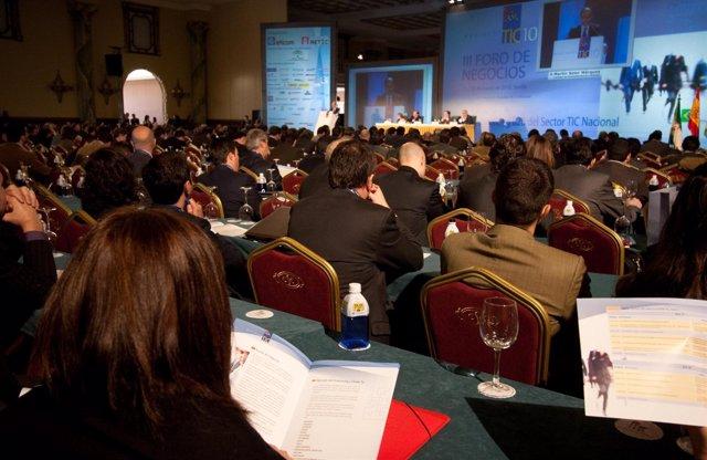 Inauguración Foro Business TIC 2010