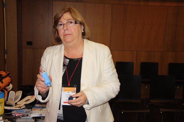 La Pediatra Y Miembro De La Sepeap Carmen Gancedo En Santiago