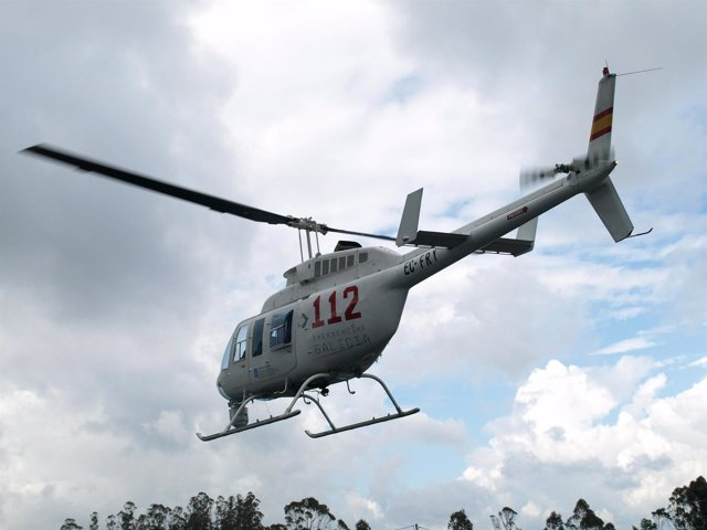 Helicóptero del 112