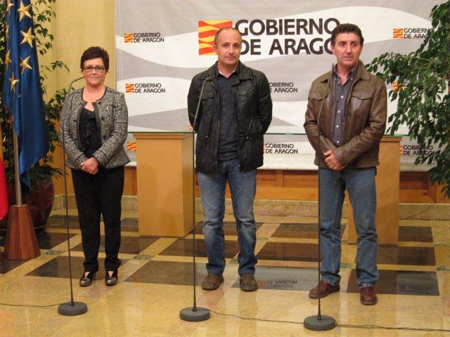 Obdulia Gracia, Miguel Ángel Puyuelo Y Alfonso Salillas