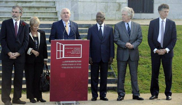 Conferencia Internacional De Paz En Euskadi