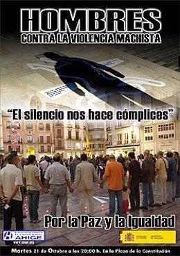 Cartel De Las Concentraciones Silenciosas Contra La Violencia Machista