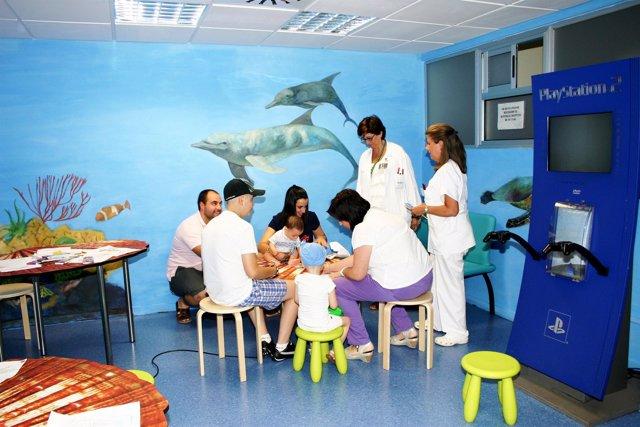 Sala Lúdica Del Hospital Macarena Para Niños Oncológicos