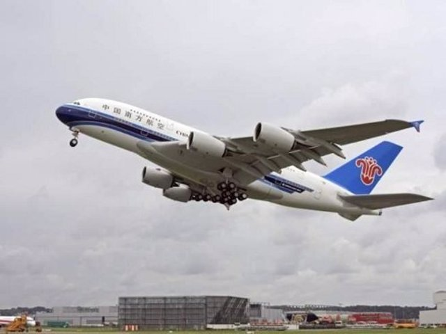 Avión De China Southern Airlines