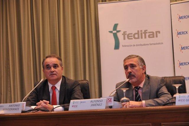 Fedifar, Presidente Antonio Mingorance