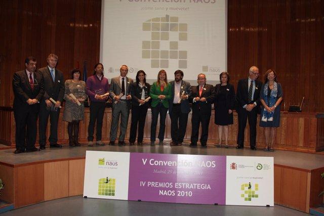 Entrega De Premios Estrategia NAOS