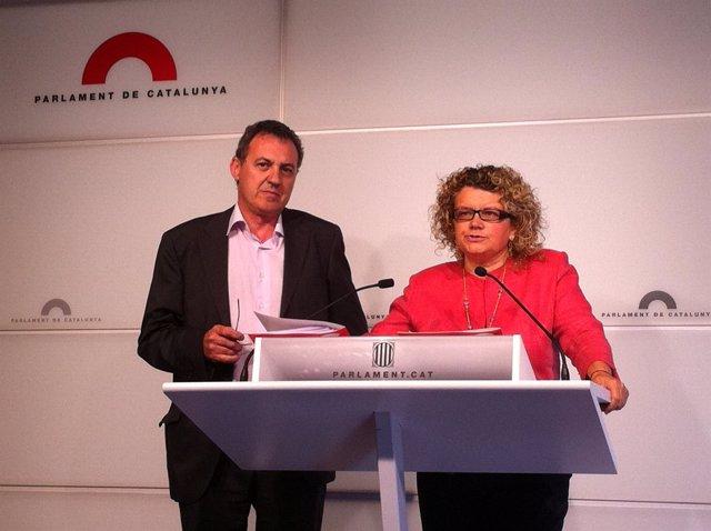 Josep Maria Sabaté Y Marina Geli