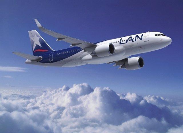 Avión LAN