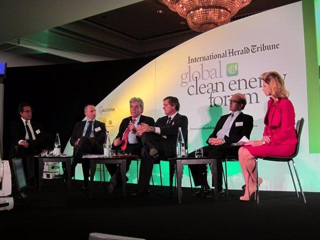 Primera Sesión Del Global Clean Energy Forum, Con J.M.Entrecanales