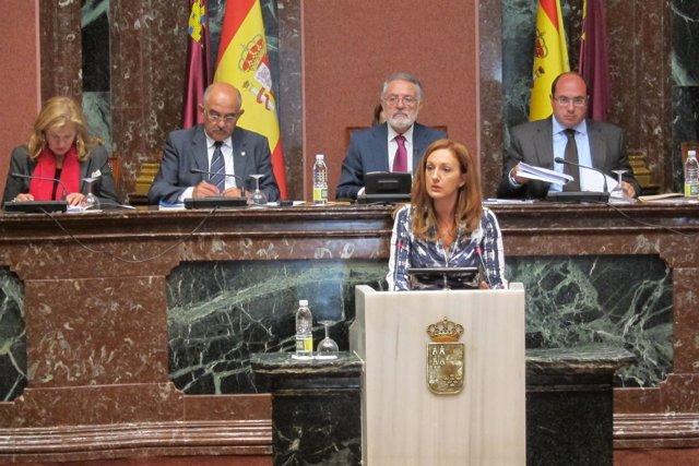 Ascensión Carreño En La Asamblea Regional