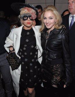 Posado De Lady Gaga Y Madonna
