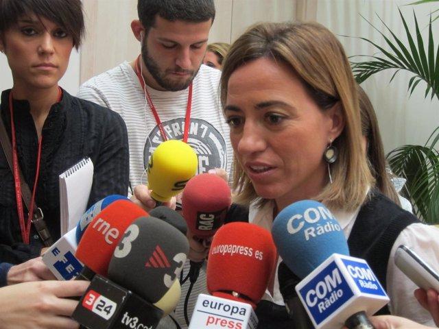 Carme Chacón (PSC), En Declaraciones A Los Medios