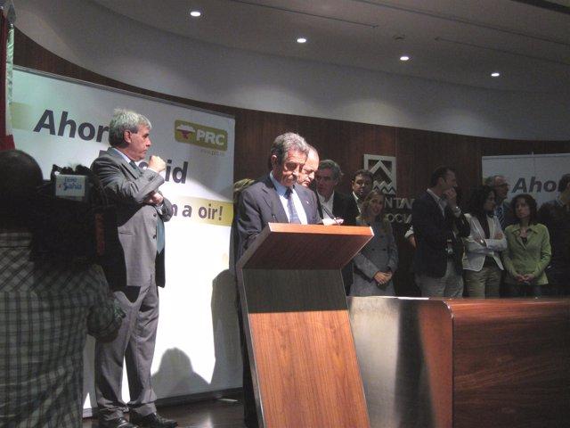 Miguel Ángel Revilla En La Convencción Del PRC
