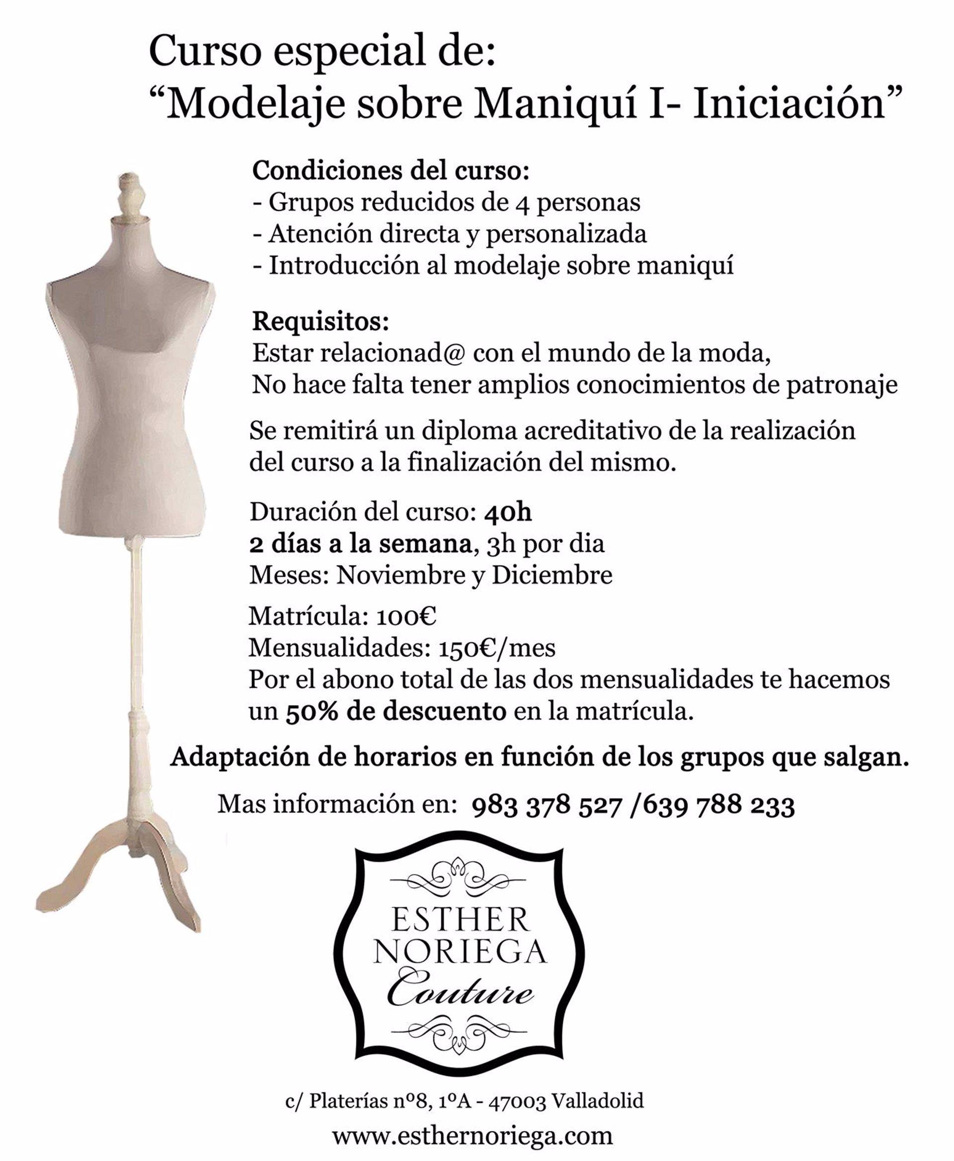 La diseñadora Esther Noriega ofrecerá cursos de modelaje sobre ...