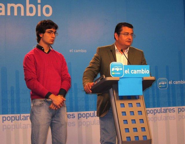 Luis Paniagua Y Antonio Sanz En Rueda De Prensa