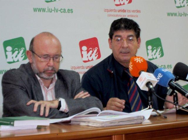 Ignacio García Y Diego Valderas, Hoy En Rueda De Prensa