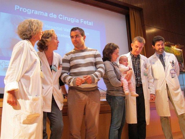 Presentación Primera Operación De La Espina Bífida De Un Feto En Vall D'hebron