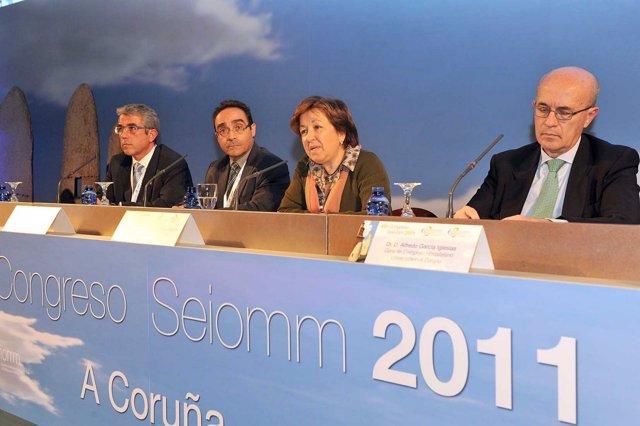La Conselleira De Sanidade En Un Acto En A Coruña.