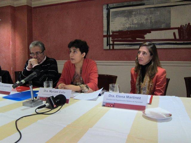 Los Representantes De Pacientes, SEPAR Y Nycomed Explican El Contenido De La Guí